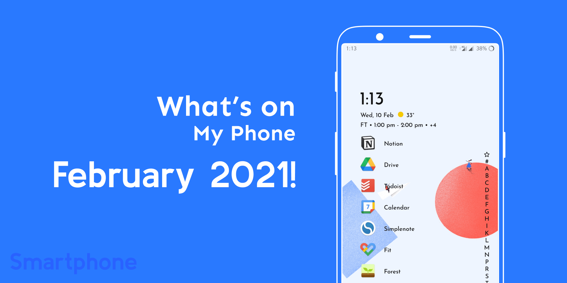 What's on My Phone February 2021!