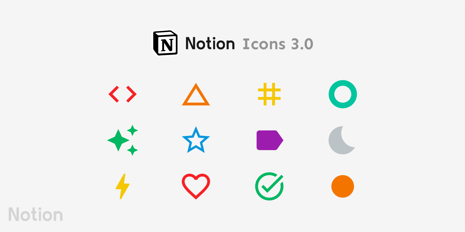 Notion Icons 3.0