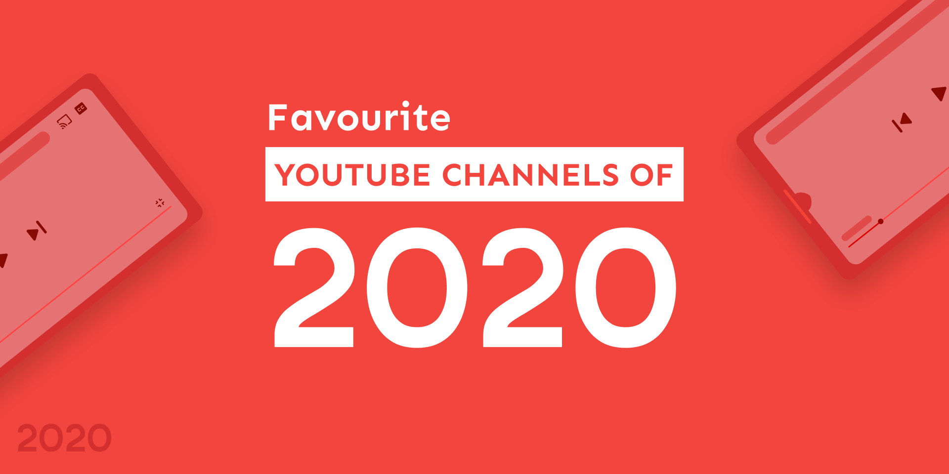 Favourite YouTube Channels of 2020