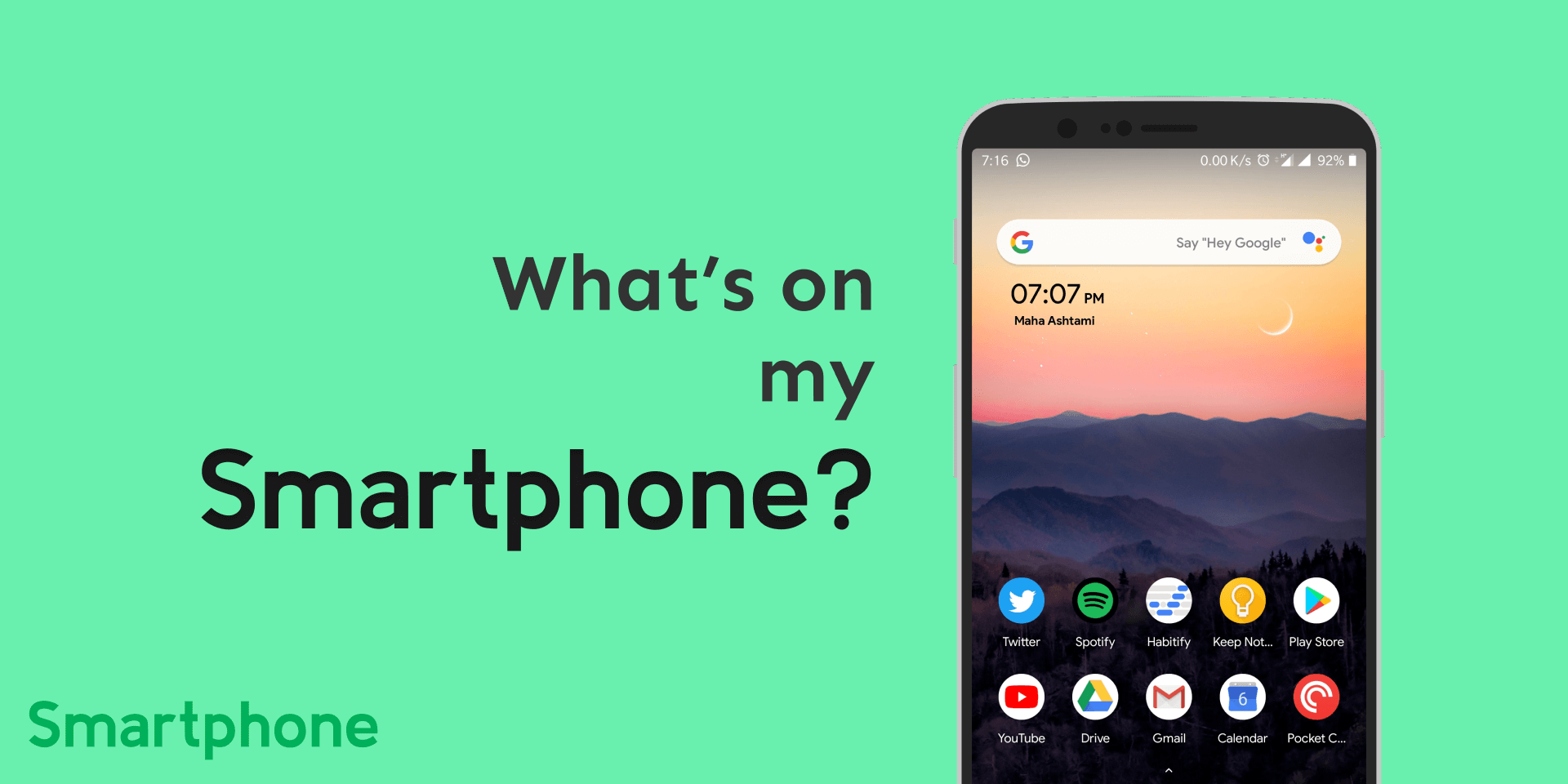 What's on my Smartphone?