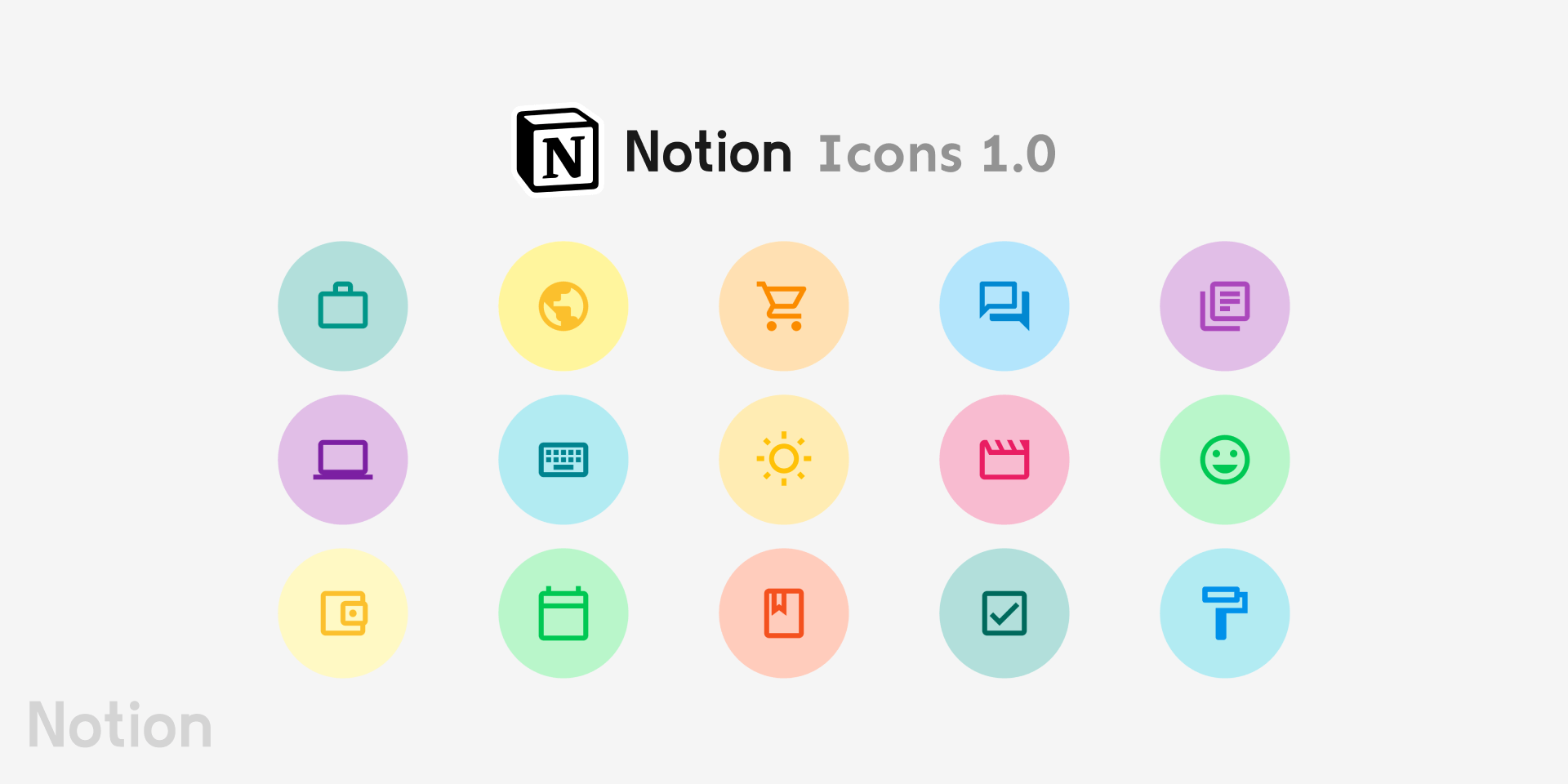 Notion Icons 1.0